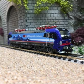 Locomotive Vectron Alppiercer SBB Ep VI digital son-N 1/160-HOBBYTRAIN H3007S