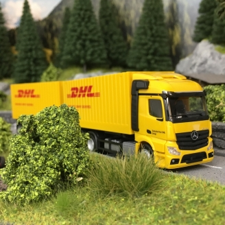 Mercedes Actros DHL-HO 1/87-HERPA 311809