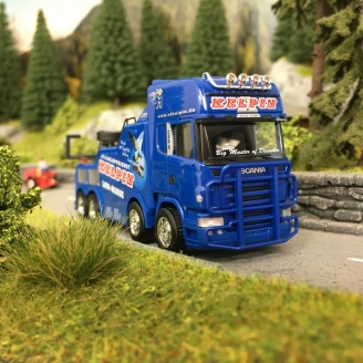 "Scania Dépanneuse Topline R 04 TL BISON ""KELPIN""-HO 1/87-HERPA 311847"