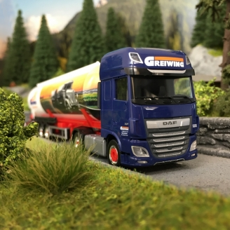 "DAF Semi Remorque XF SSC ""GREIWING""-HO-1/87-HERPA 941037"