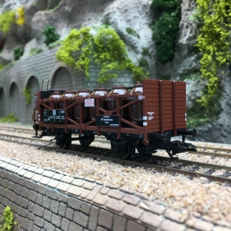Wagon Transport d'Acide Ep III DR-HO 1/87-TRIX 24135