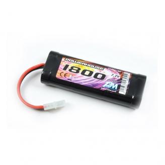 Batterie Ni-MH powerhouse 1800 mAh, 7.2V - T2M T1006180