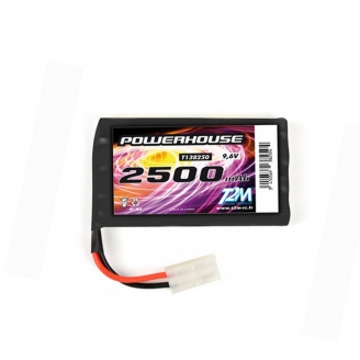 Batterie Ni-MH powerhouse 2500 mAh 9.6V - T2M T138250