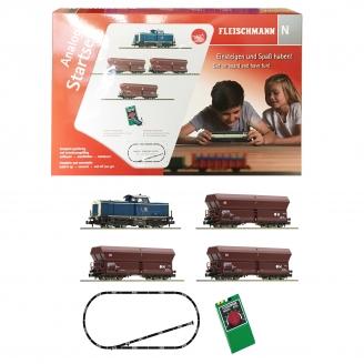 Coffret de démarrage BR 212 marchandises DB Ep V-N 1/160-FLEISCHMANN 931705