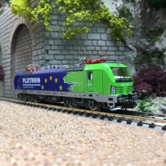 Locomotive Vectron Flixtrain Europa Ep VI-N 1/160-HOBBYTRAIN H3009