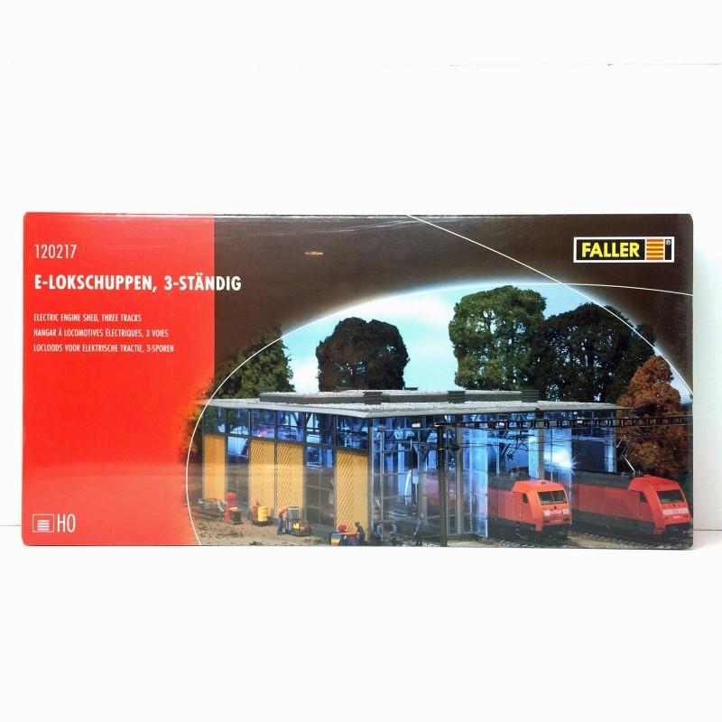 Faller 120217 HO 1//87 Hangar à locomotives électriques 3 voies