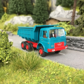 Camion-Benne basculante MAN-HO 1/87-WIKING 86633