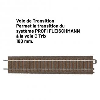 """Voie de Transition """"Fleischmann / Trix""""-HO 1/87-TRIX 62922"""