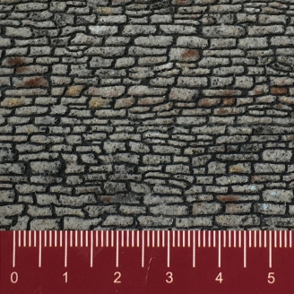 "Feuille Structure 3D ""Tuiles"" - HO 1/87-NOCH 60350"