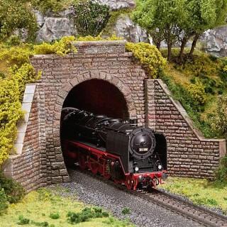 Entrée de tunnel 1 voie-HO-1/87-FALLER 120559
