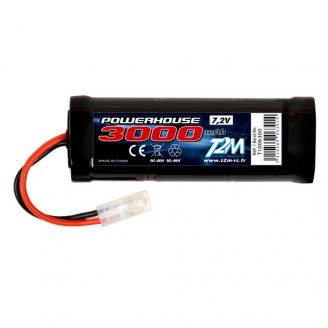 Batterie Ni-MH powerhouse 3000 mAh, 7.2V - T2M T1006300