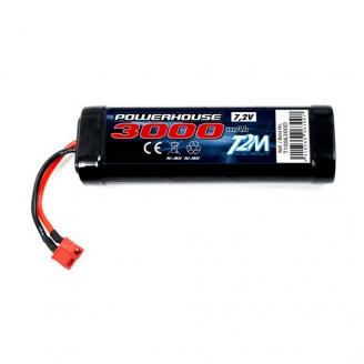 Batterie Ni-MH powerhouse 3000 mAh, 7.2V - T2M T1006300D