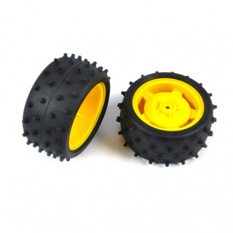 2 Roues arrière pour Buggy - 1/10 - TAMIYA 9400239