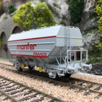 Wagon céréalier MONFER Ep IV-HO 1/87-REE WB633