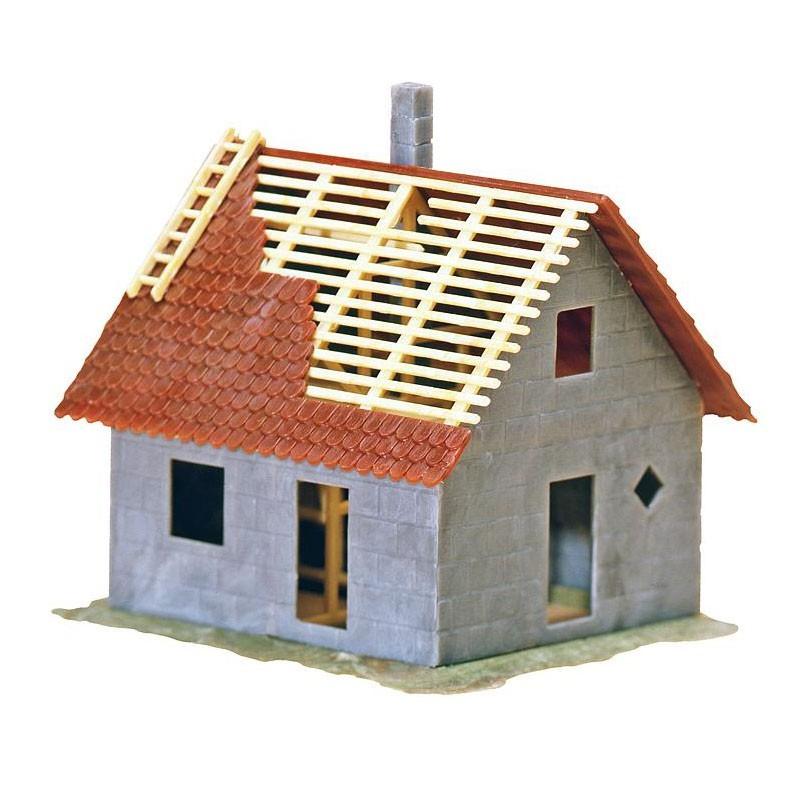 Maison en construction ho faller 130246 modelisme for Paiement construction maison
