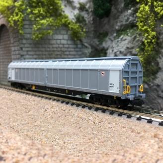 Grand Wagon à parois coulissantes SNCF Ep V-N 1/160-FLEISCHMANN 838317