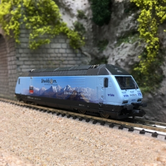 Locomotive Re 465016, BLS Ep VI digital son-N 1/160-FLEISCHMANN 731398
