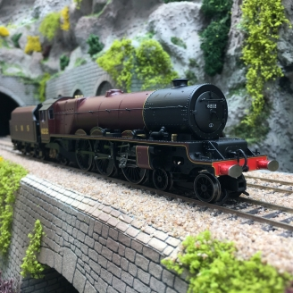 Locomotive LMS, Princess Royal class, 4-6-2, 6212, Ep III digital -00 1/76- HORNBY R3854X