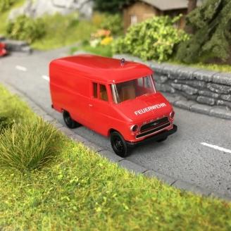 Opel Blitz Pompiers - HO 1/87 - BREKINA 35628