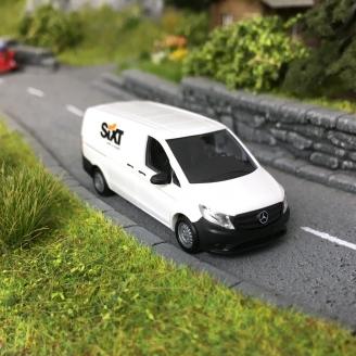 """Mercedes-Benz VITO """"SIXT""""-HO 1/87-BUSCH 51197"""
