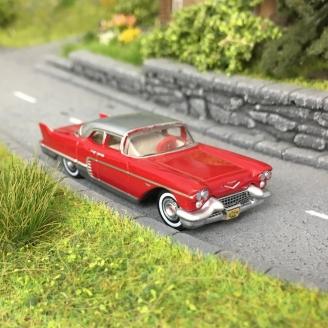 Cadillac Eldorado Brougham 1957 Rouge-HO-1/87-OXFORD 201133341