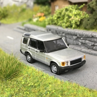 """Land Rover Discovery """"Argent""""-HO 1/87-BUSCH 51932"""