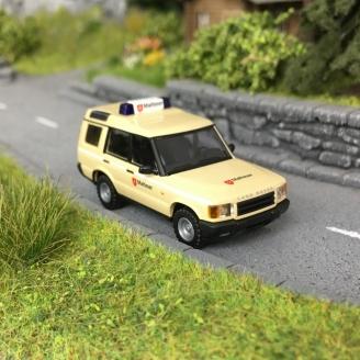 """Land Rover Discovery """"Malteser""""-HO 1/87-BUSCH 51922"""