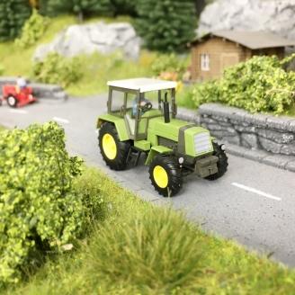 Tracteur Fortschritt LPG + personnage-HO-1/87-BUSCH 50420