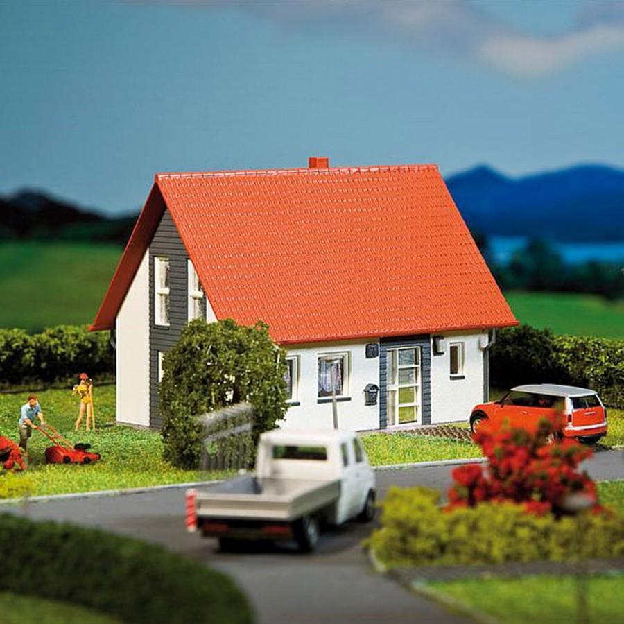 Maison individuelle ho faller 130316 modelisme ferroviaire for Maison individuelle