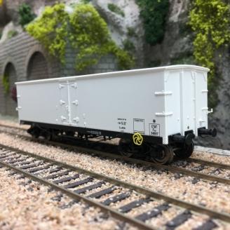 Wagon TP FRIGO Origine ETAT Ep II-HO 1/87-REE WB577