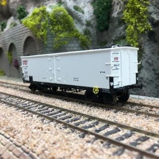 Wagon TP FRIGO Trappes à glace Origine PLM STEF Ep II-HO 1/87-REE WB579