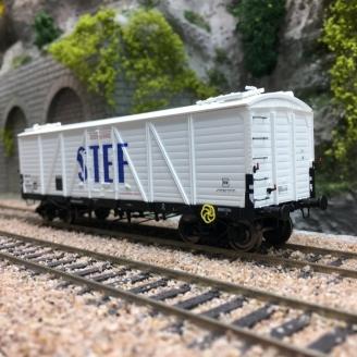 Wagon TP FRIGO Reconstruit SNCF STEF Ep III-HO 1/87-REE WB583