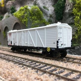 Wagon TP FRIGO Reconstruit SNCF STEF Ep III-HO 1/87-REE WB582