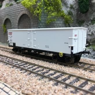 Wagon TP FRIGO Origine PLM STEF Ep II-HO 1/87-REE WB578