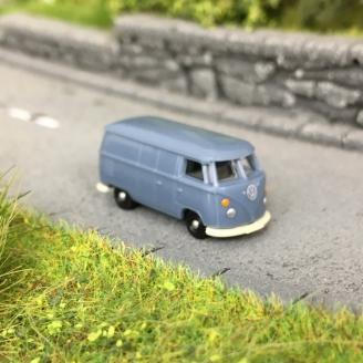 VW T1 Combi-Split tôlé bleu-N 1/160-WIKING 93203