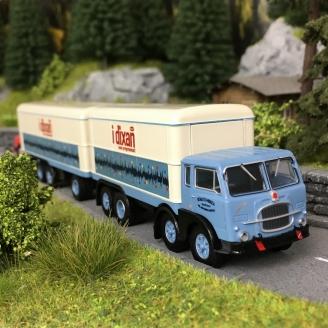 "Camion FIAT 690 Millepiedi ""IDIXAN""-HO 1/87-BREKINA 58428"