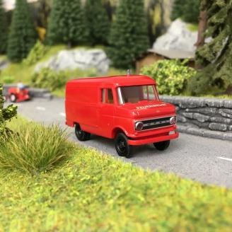 Opel Blitz B Pompiers - HO 1/87 - BREKINA 35724