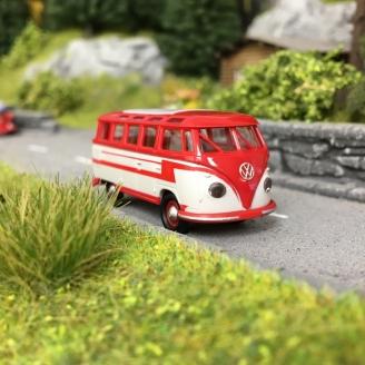 Combi VW T1b Samba-HO-1/87-BREKINA 31843