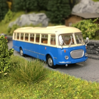 Bus Skoda 706 RTO Bleu/Beige-HO-1/87-Starline Models 58255