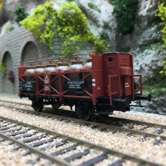 Wagon transport d'acide Rj CSD Ep III -HO 1/87- BRAWA 49316