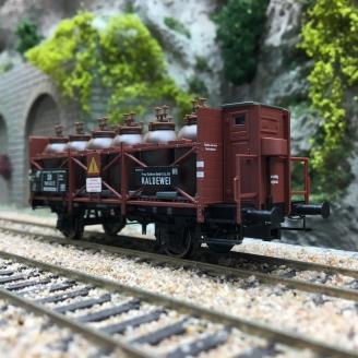 Wagon transport d'acide Kaldewei DB Ep III -HO 1/87- BRAWA 49324