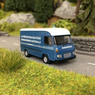 Camion Saviem SG2 GENDARMERIE-HO 1/87-BREKINA 14641