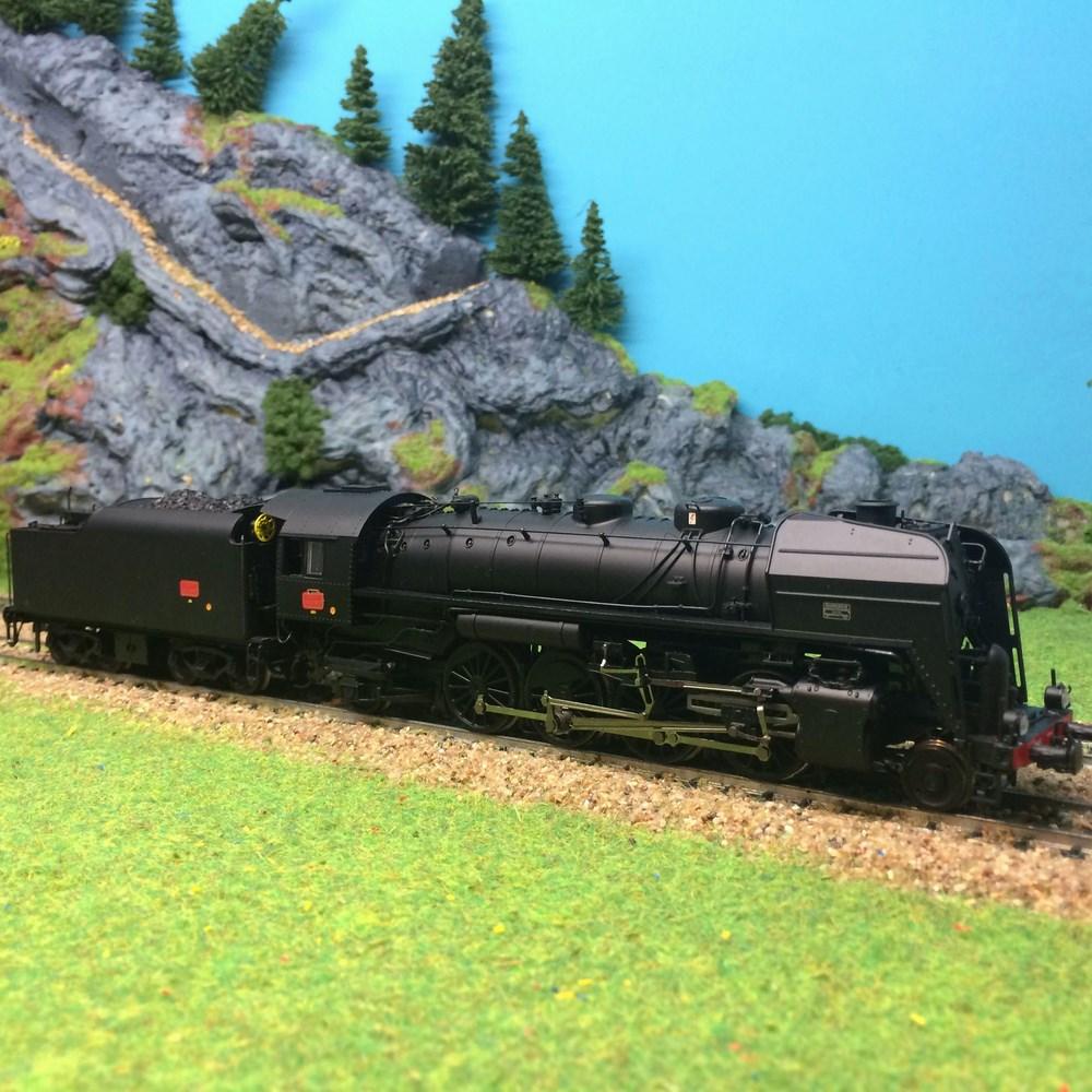 Locomotive à vapeur Jouef - 141R307 ep III - HO 1/87
