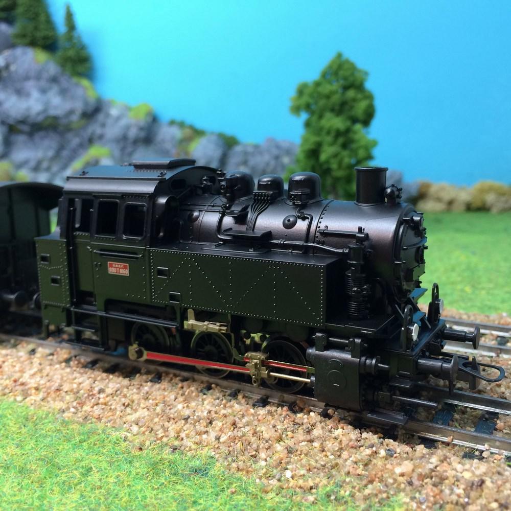 Locomotive à vapeur Roco