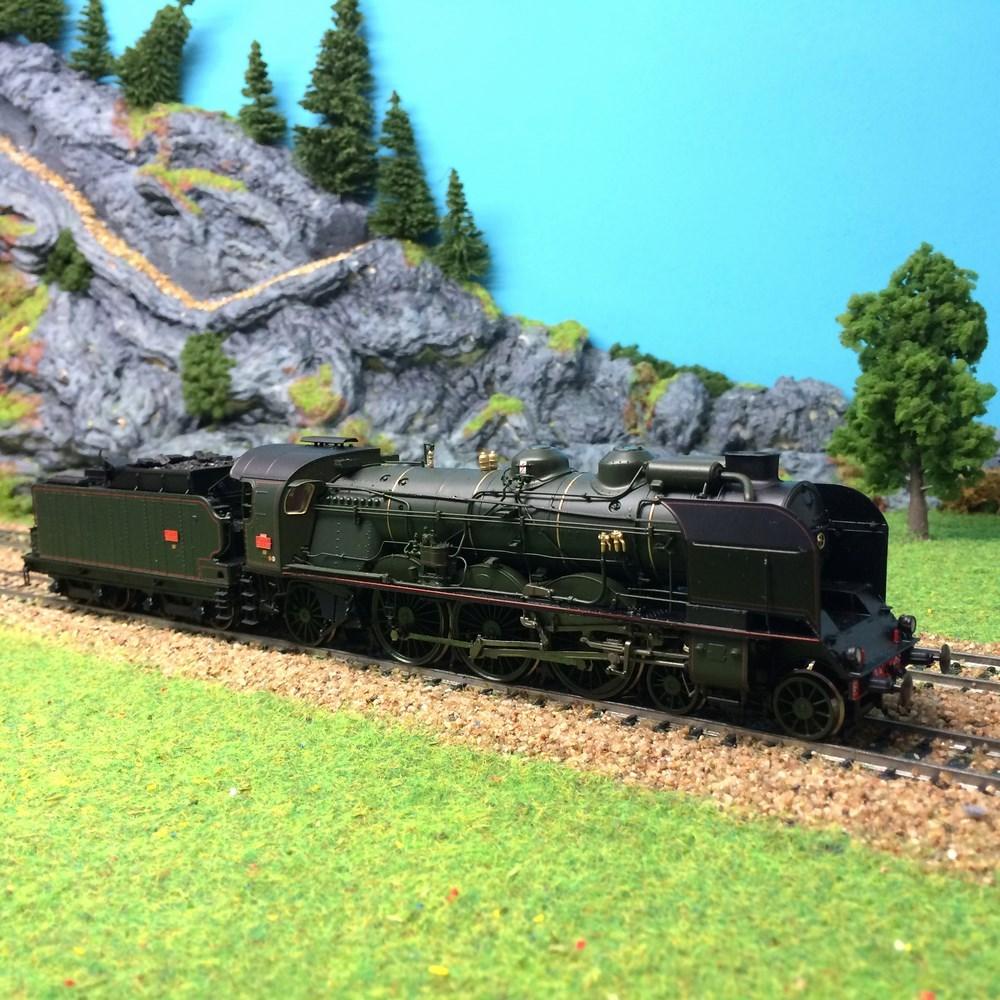 Locomotive à vapeur Ree Modèles - 231G263 ep III analogique MB-014 - HO 1/87