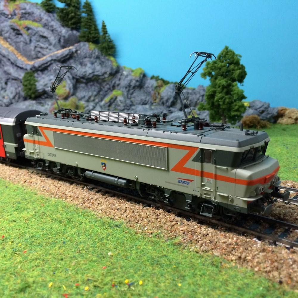 Locomotive électrique LS Modèles - BB122348 - HO 1/87