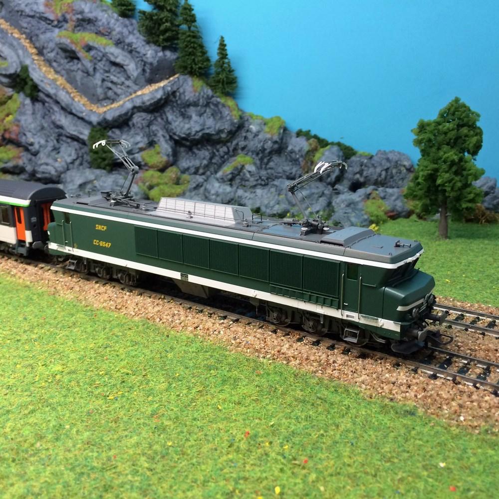Locomotive électrique Roco - CC6547 ep IV - HO 1/87
