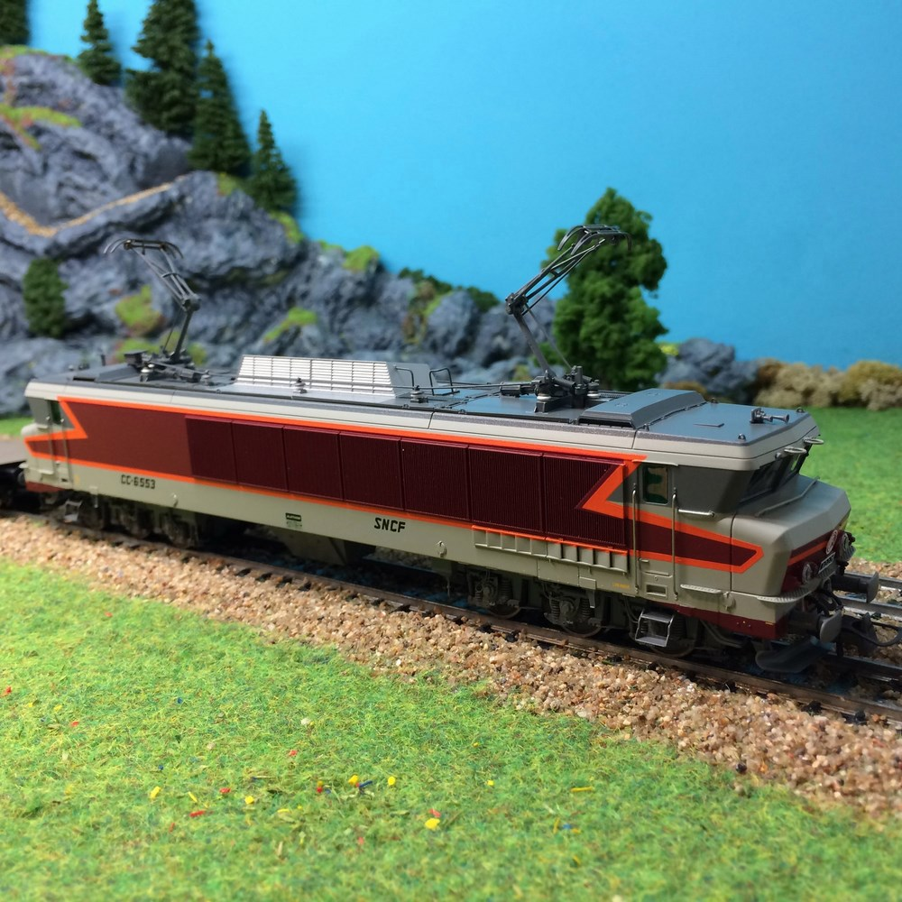 Locomotive électrique Roco - CC6553 ep V - HO 1/87