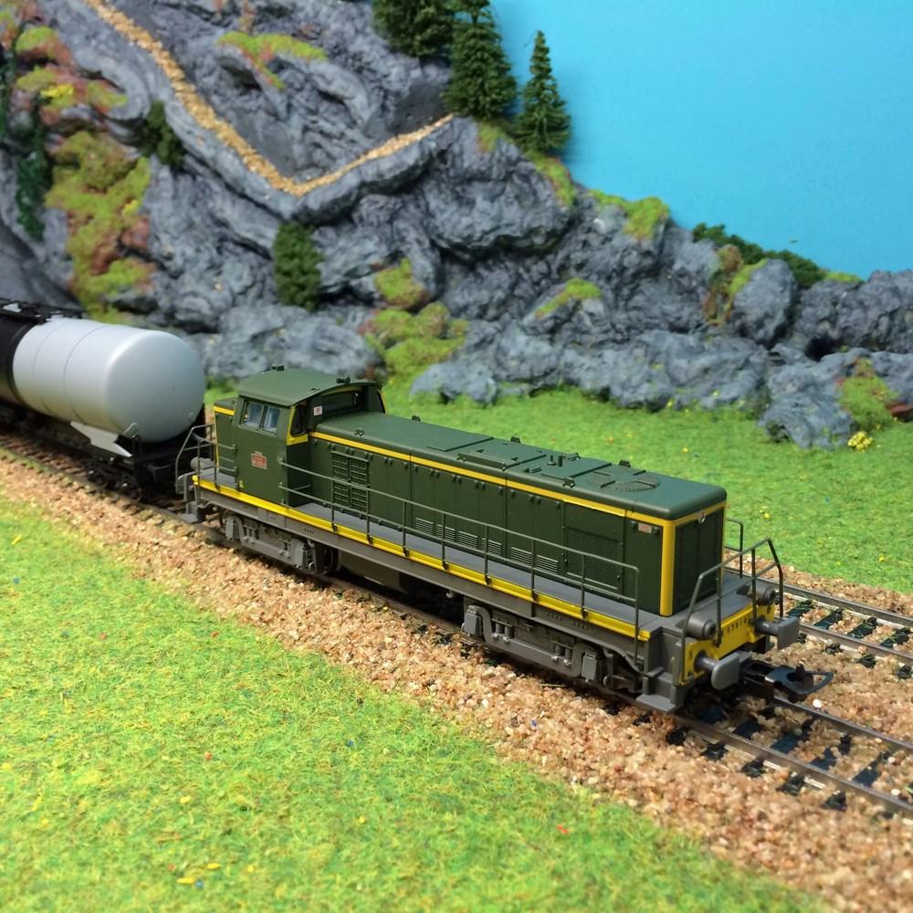 Locomotive diesel Piko - BB63814 ep IV - HO 1/87