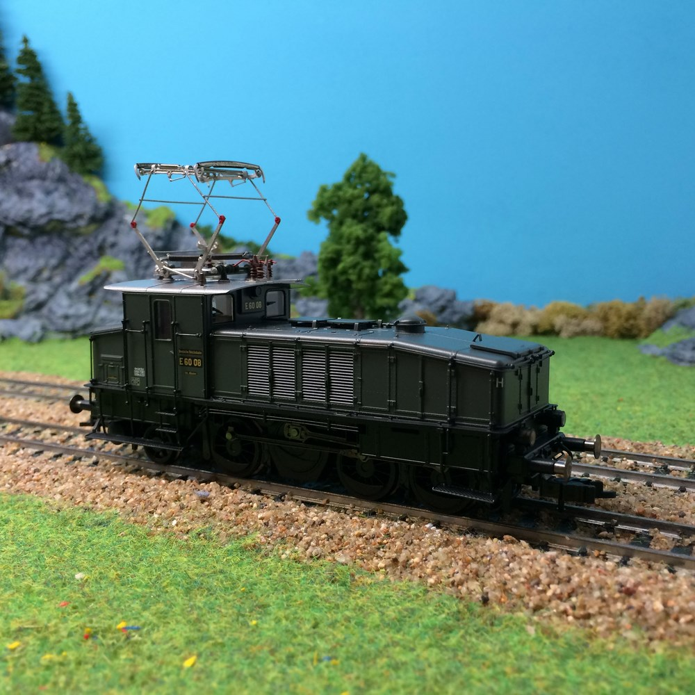 Locomotive électrique BR E60 DRG epII-HO-1/87 Fleischmann
